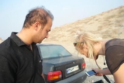 Meeting Yasser again on the road